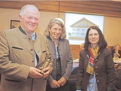 Verleihung des ersten Gabriel-von-Max Denkmalpreises an Josef und Katharina Strobl