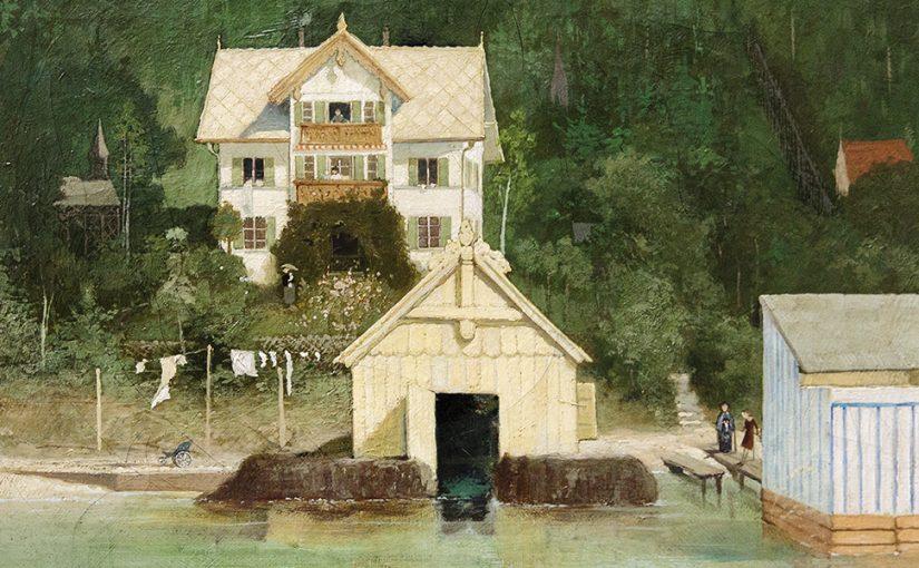 Gabriel von Max Denkmalpreis des OSV 2016 für Werner Döttinger mit Schloss Ammerland