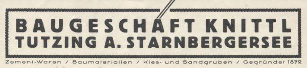Die Baumeister Knittl – Buchvorstellung in Holzhausen